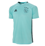 2016-2017 Ajax Adidas Training Shirt (Clear Aqua)