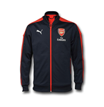 2016-2017 Arsenal Puma Stadium Jacket (Peacot) - Kids