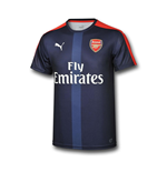2016-2017 Arsenal Puma Stadium Jersey (Peacot) - Kids