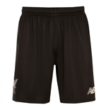 2016-2017 Liverpool Away Shorts (Black) - Kids