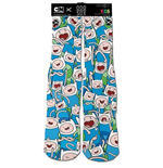 ADVENTURE TIME Kids Finn White Socks