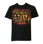 SUICIDE SQUAD Movie Logo Tee Shirt