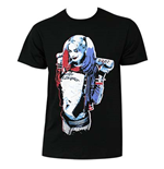 SUICIDE SQUAD Harley Quinn Queen Pose Tee Shirt
