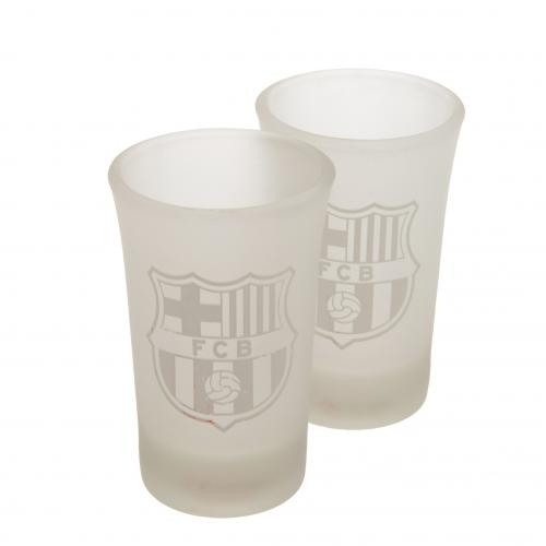 F.C. Barcelona 2pk Shot Glass Set FR