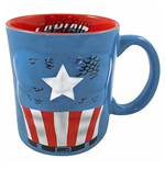 CAPTAIN AMERICA Molded Mug