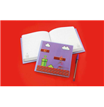 Super Mario Notepad  - 3d Motion