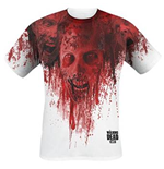 The Walking Dead T-shirt - Walkers In Face Stain Full Printed