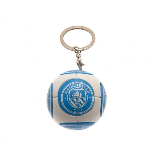 Manchester City F.C. Football Keyring