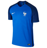 2016-2017 France Home Nike Authentic Match Shirt