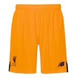 2016-2017 Liverpool Away Goalkeeper Shorts (Orange) - Kids