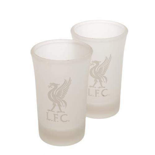 Liverpool F.C. 2pk Shot Glass Set FR