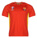 Spain UEFA Euro 2016 Poly Training Tee (Red)