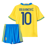 2016-2017 Sweden Home Mini Kit (Ibrahimovic 10)