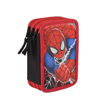 Spiderman (CE) pencil case triple filled