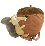 Ice Age Collision Course Plush Backpack Scrat on Nut 55 cm