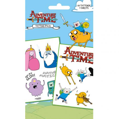 Adventure Time Tattoo Pack