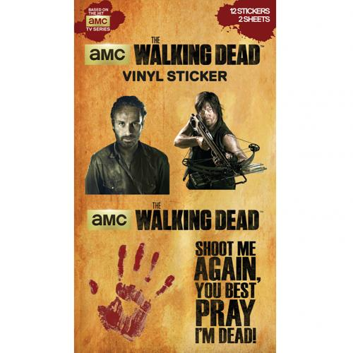 The Walking Dead Sticker Set