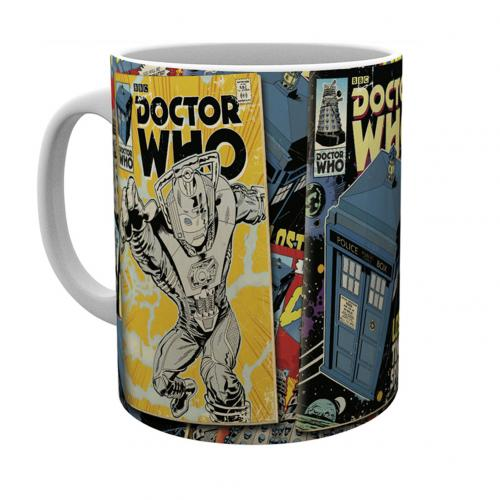 Doctor Who Mug Comics
