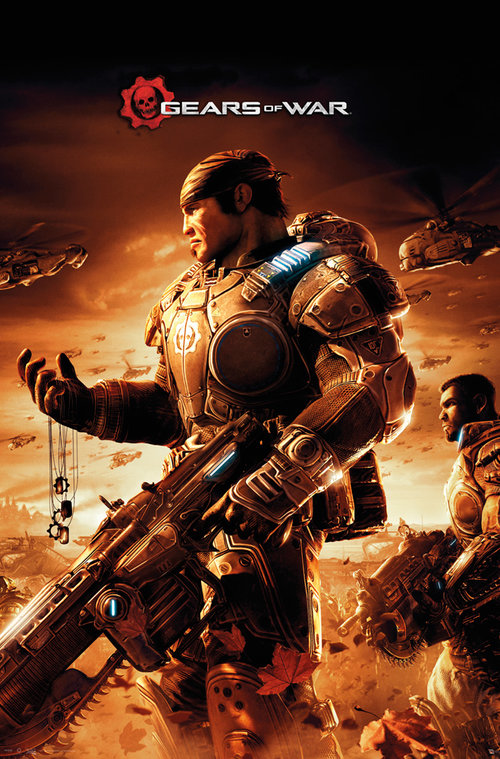 Gears Of War Armour Maxi Poster