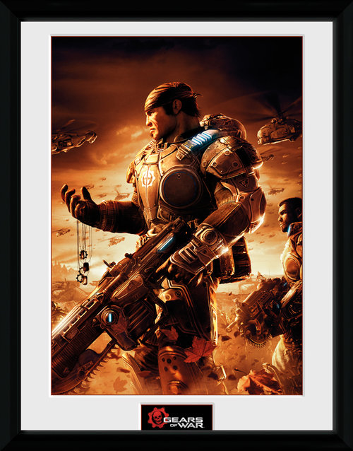 Gears Of War 4 Gears 2 Framed Collector Print
