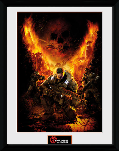 Gears Of War 4 Gears 1 Framed Collector Print