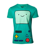 ADVENTURE TIME Beemo Games Console T-Shirt, Extra Extra Large, Turquoise