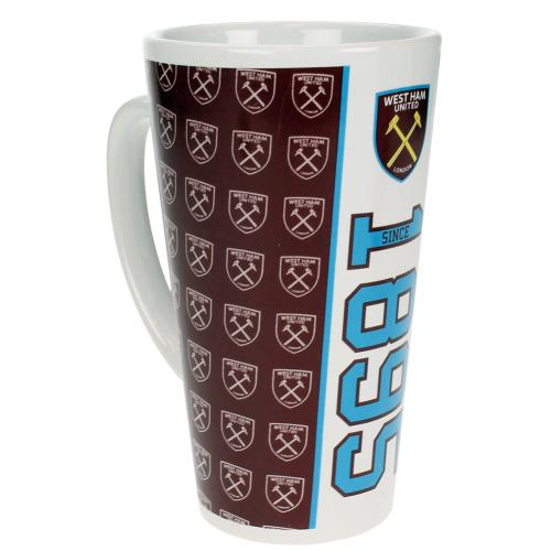West Ham United F.C. Latte Mug