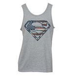 SUPERMAN American Flag Logo Tank Top