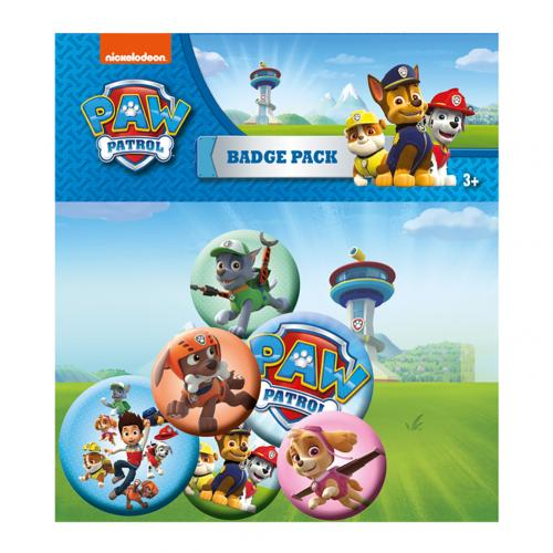 Paw Patrol Button Badge Set