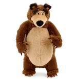 Masha and the Bear Plush Toy - Bear Peluche 25 cm (Standing/Seated Assortment)