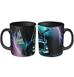 Def Leppard Mug On Through The Night