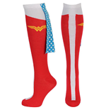 DC Comics WONDER WOMAN Caped Knee High Socks
