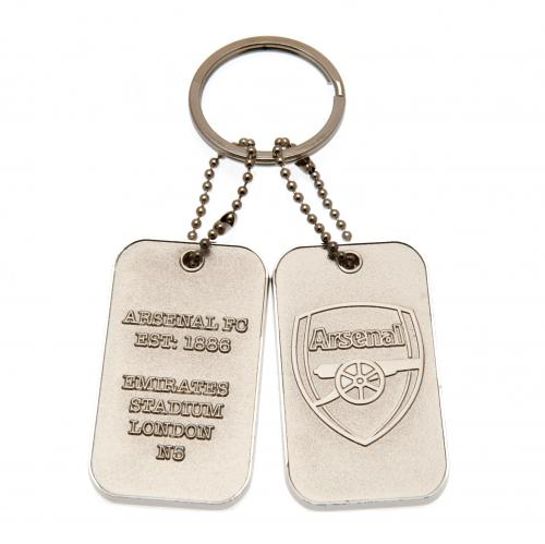 Arsenal F.C. Dog Tag Keyring