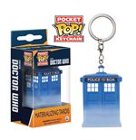 Doctor Who Pocket POP! Vinyl Keychain Materializing Tardis 4 cm