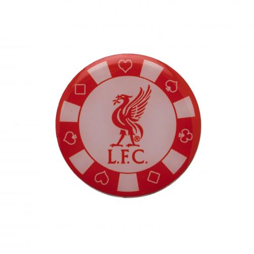 Liverpool F.C. Poker Chip Badge