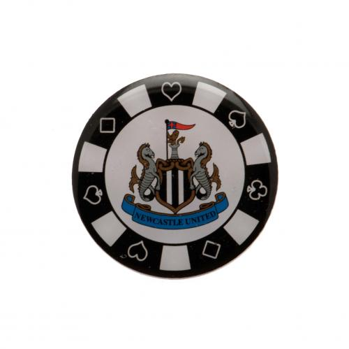 Newcastle United F.C. Poker Chip Badge