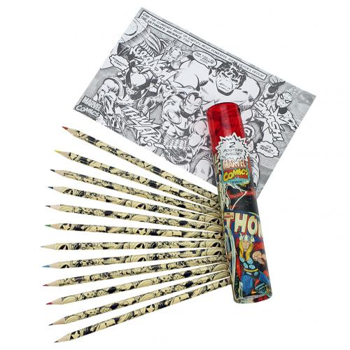 Marcel Comics Colouring Pencil Tube