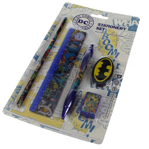 DC Comics Stationery Set