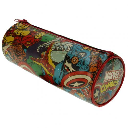 Marvel Comics Barrel Pencil Case