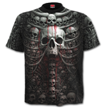 Death Ribs - Allover T-Shirt Black