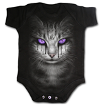Wolf Puppy - Baby Sleepsuit Black