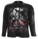 Dark Roots - Longsleeve T-Shirt Black