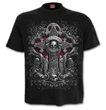 In Goth We Trust - Front Print T-Shirt Black
