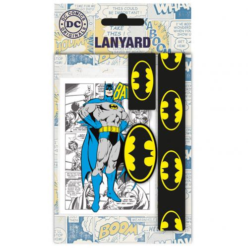 Batman Lanyard & Keyring Set