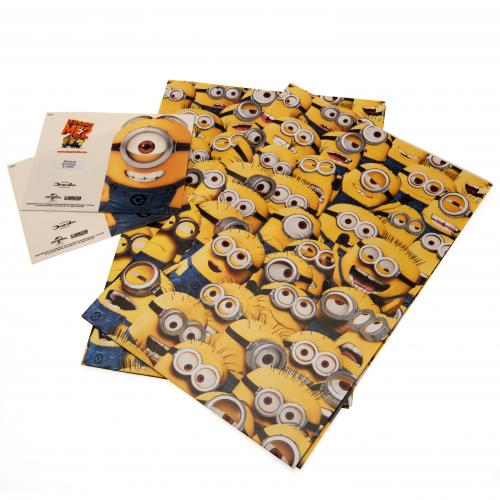 Despicable Me Minion Gift Wrap