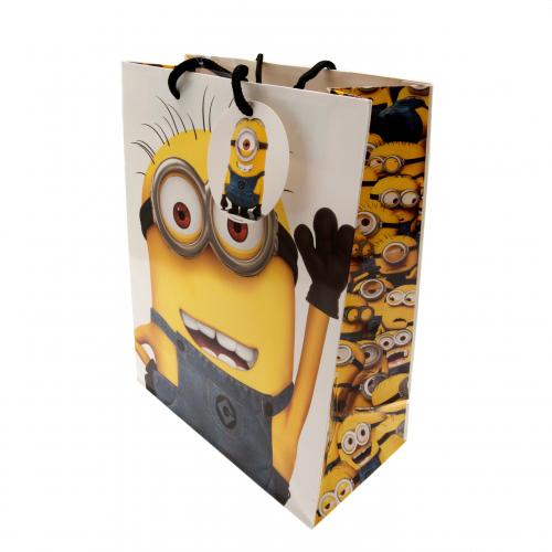 Despicable Me Minion Gift Bag Medium