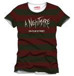 Nightmare On Elm Street T-Shirt Stripes