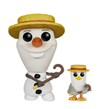 Frozen POP! Vinyl Figure Barber Shop Olaf & Seagull SDCC 2015 9 cm