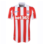 2016-2017 Stoke City Macron Home Football Shirt