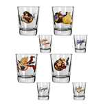 DC Comics Bombshells Shotglass 4-Pack Girls
